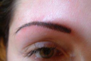 After - Semi-permanent Makeup Eyebrow