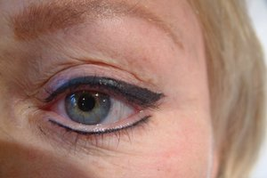 After - Semi-permanent Makeup Eyebrow and Eyeliner
